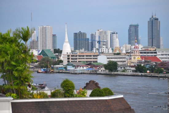 Above Riva Rooftop Restaurant Views Of Wat Arun Amp Chao