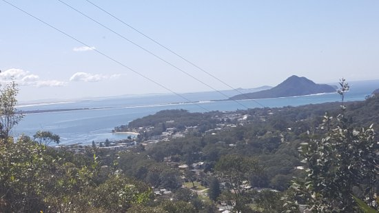 Nelson Bay, Australia: View from the Gan Gan Hill Carpark Lookout