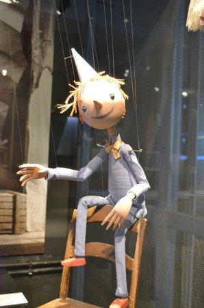 Theaterfigurenmuseum: Pinnochio