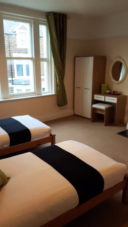 Workington, UK: Twin room en-suite