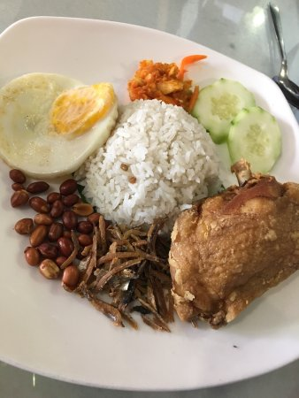 tea garden restaurant dry hot fun and nasi lemak