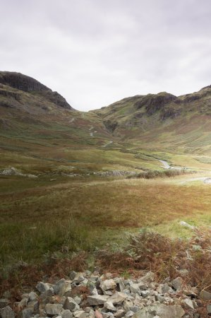 Eskdale, UK: Photo of Hardknott Pass