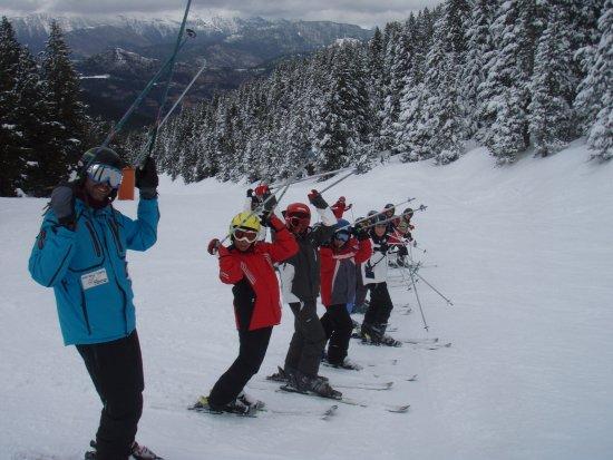 Esportec - Escola d'Esqui Prepirineu: Grup