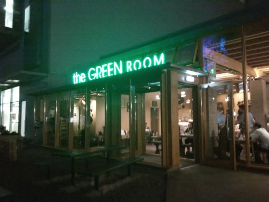 The Green Room Neon Sign