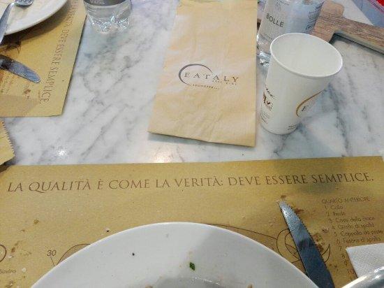Genola, Italia: Frittata eccezionale in corso d'opera...