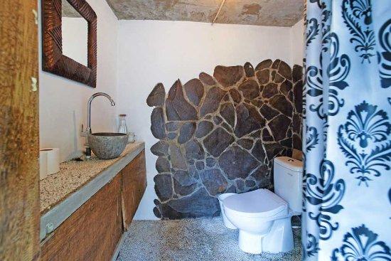 Batu Bambu  Communal bathroom for budget rooms. Communal bathroom for budget rooms   Picture of Batu Bambu  Kuta