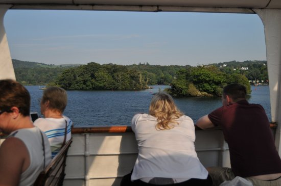Bowness-on-Windermere, UK: Never the same view twice