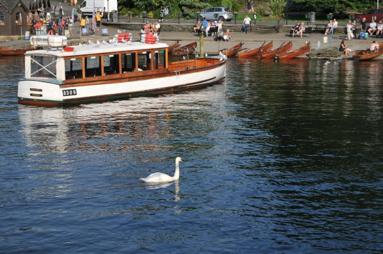Bowness-on-Windermere, UK: The most Northern part of the lake