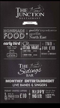 Морпет, UK: The Junction Restaurant