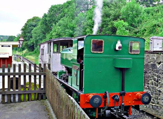 Wirksworth, UK: Steam engine
