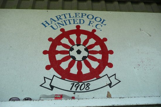 Hartlepool, UK: A sign
