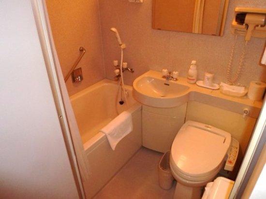Monbetsu, Japan: バストイレ