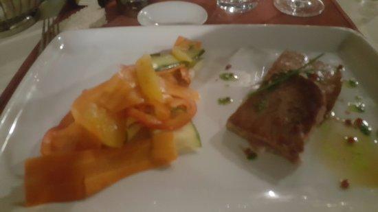 Bale, Kroatien: Tuna steak