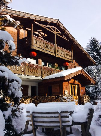 Saint Jean d'Aulps, Prancis: Welcome to Chalet Shufu