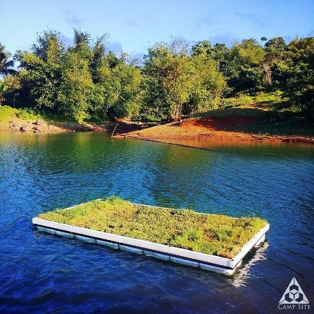 Cavinti, Filipinas: Experience & Enjoy our unique Floating Garden Dock!