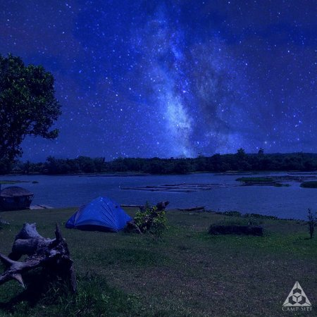 Cavinti, Filipinas: Experience star-gazing at night at the BLOC Camp Site!
