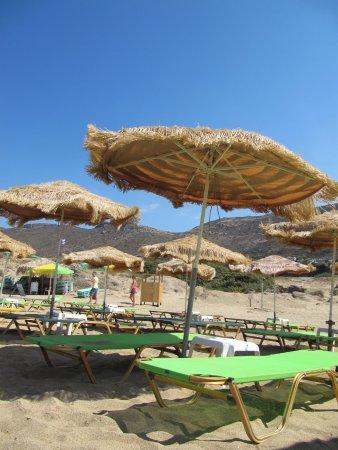 Фалассарна, Греция: Ombrellone + sdraio