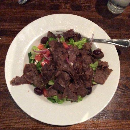 Ephesus: Greek salad with Gyro Meat