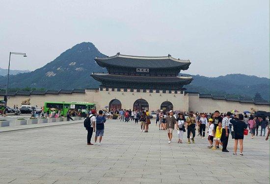 Gwanghwamun Gate: 景福宫前门~光化门