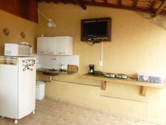 Santo Mirante Hostel: Cozinha Santo Mirante