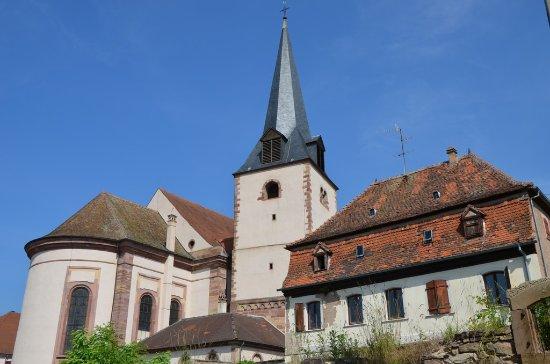 L'église Saint Etienne - ©DWOLFF_OT Rosheim