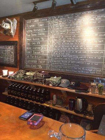Keeseville, Nova York: The beer board