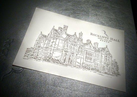 Rockliffe Hall: Great little postcards