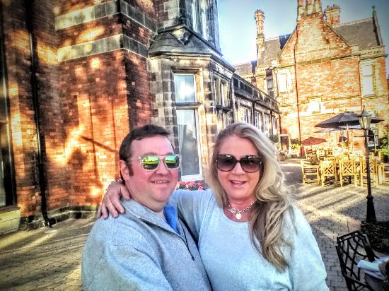 Rockliffe Hall: Cute photo outside in courtyard