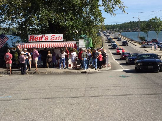 Wiscasset, ME: Yes there was a line.......