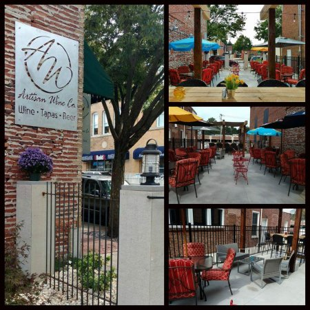 Westminster, MD: Outdoor Patio on Main Street