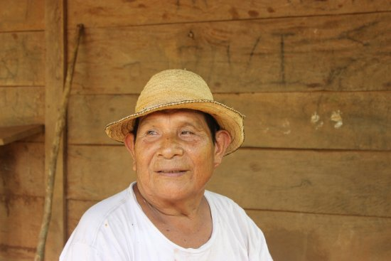 Playa Las Lajas, Panama: Nuestro anfitrión