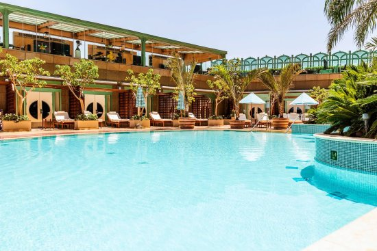 Four Seasons Hotel Cairo at Nile Plaza: Pool