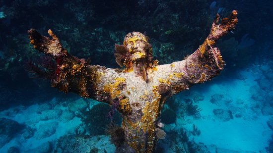 Ocean Divers: Christ of Abyss in Pennekamp State Park