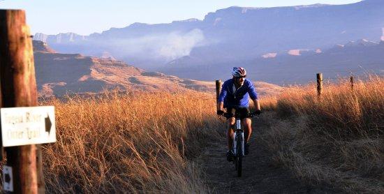 Bergville, Νότια Αφρική: Mountain bike trails on site