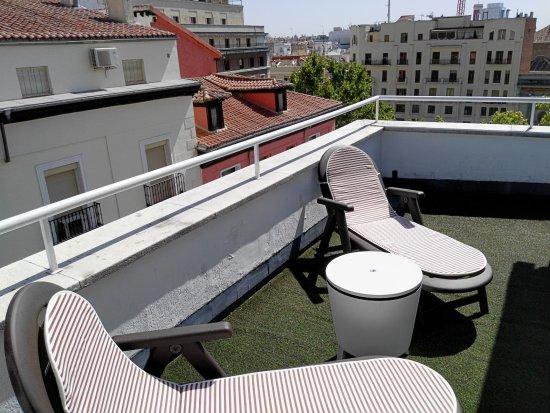 Hotel Anaco: Terrace