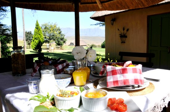 Bergville, Sudáfrica: dinner bed and breakfast offered.