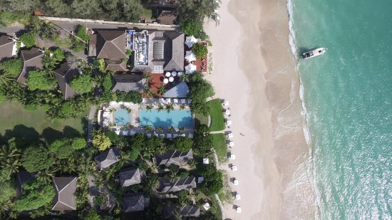 Layana Resort and Spa: pool/beach view from a birds eye