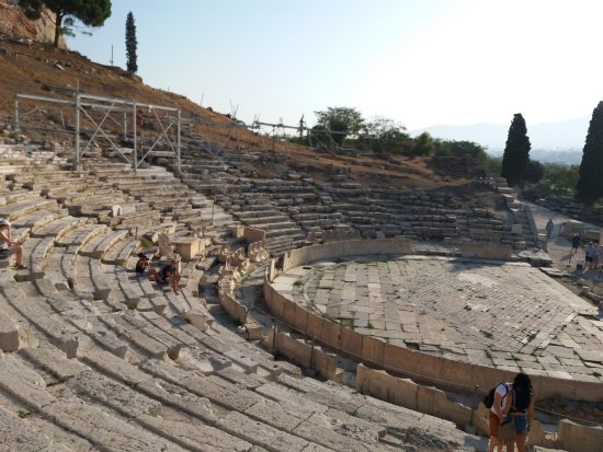 Theater of Dionysus : Théâtre