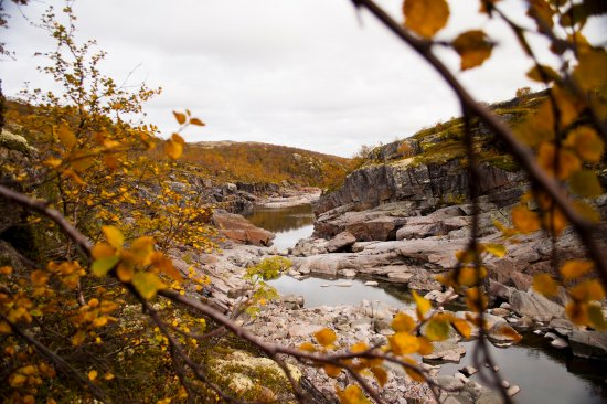 Murmansk Oblast, Russia: каньон по пути к Териберке