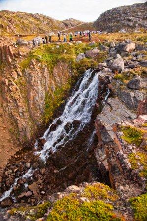 Murmansk Oblast, Russia: Териберковский водопад