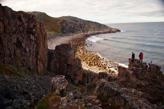 Murmansk Oblast, Russia: Баренцево море от водопада