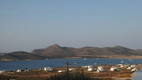 View from The Secret House, Lilly's Villas, Agios Giorgos, Antiparos