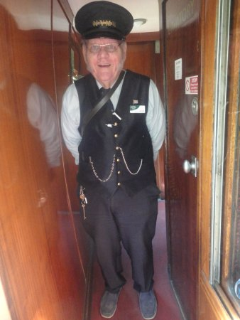 Pickering, UK: Very helpful Mr. Porter