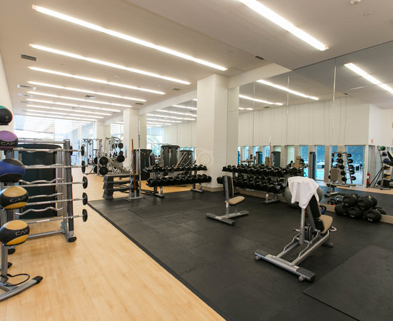 Gym at the Hyatt Regency Mexico City