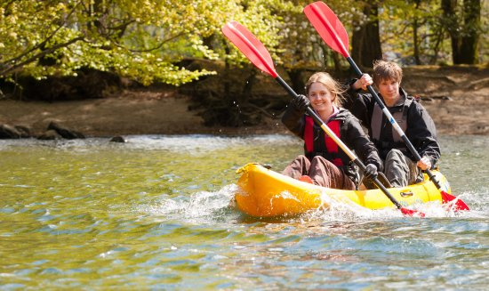 Bowness-on-Windermere, UK: Double kayak hire