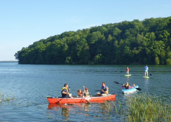 Milford, Canada: canoes, kayaks and paddle boards
