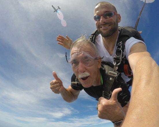 Manteo, Carolina del Nord: Free fall from 9,000'