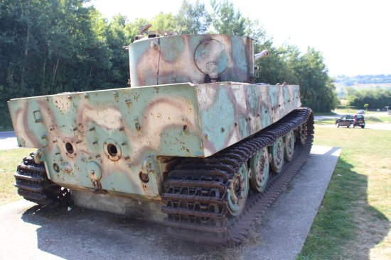 Vimoutiers, Frankrike: The tiger tank