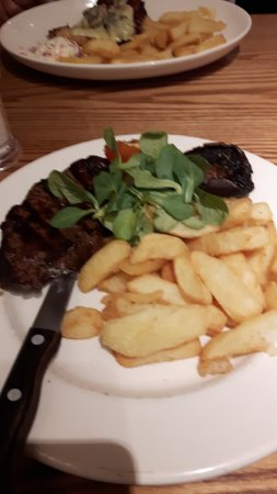 Premier Inn Inverness West Hotel: Beefeater Steak?