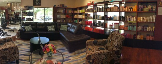 Palm Harbor, FL: Our beautiful waiting area for our stylists
